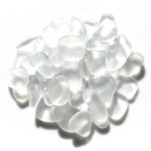 SS-119a シーグラス素材クラフト用(白色系1.5~2cm)
