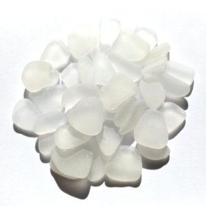 SS-119b シーグラス素材クラフト用(白色系1.5~2cm)